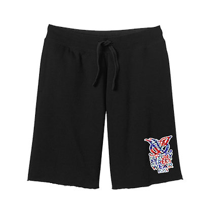Hibiscus Runners Shorts (Black)