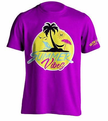 Summer Vibes Tee (Purple)