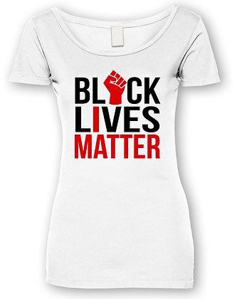 #BLM I MATTER TEE (WHITE WOMEN'S)