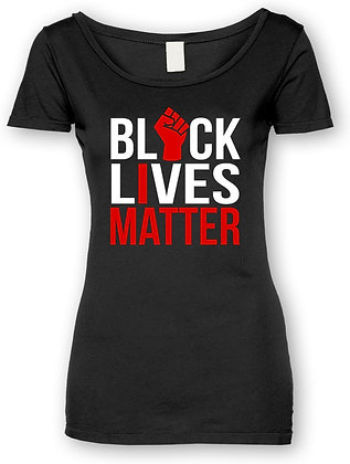 #BLM I MATTER TEE (BLACK WOMAN'S)