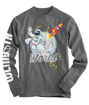 Out of This World Long Sleeve (Grey)
