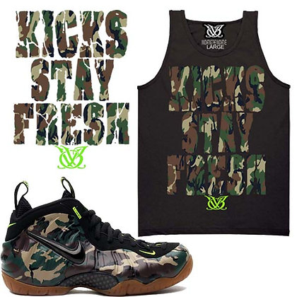 KICKS STAY FRESH CAMO TANK