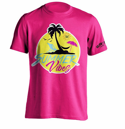 Summer Vibes Tee (Pink)