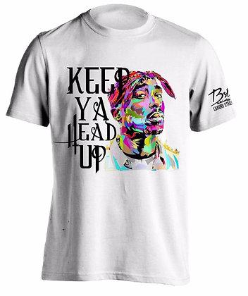 KEEP YA HEAD UP (WHITE TEE)