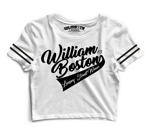 WB Captains Crop Top (White)
