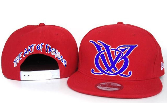 RED AND BLUE LOGO SNAPBACK