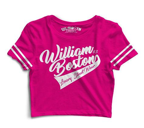WB Captains Crop Top (Pink)