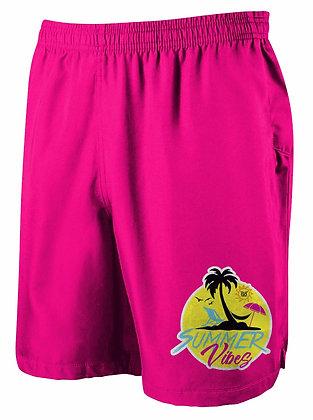 Summer Vibes Shorts (Pink)