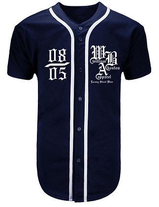 08/05 Navy Baseball Jersey