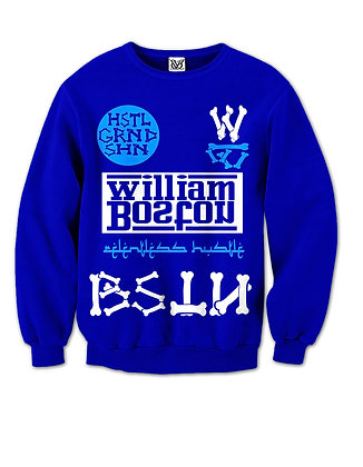 Relentless Hustle Crewneck Sweatshirts