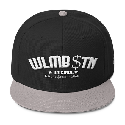 WLMB$TN BLACK AND GREY SNAPBACK