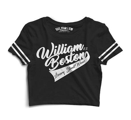 WB Captains Crop Top (Black)