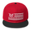 Thumbnail: STARS N STRIPES RED/BLACK SNAPBACK