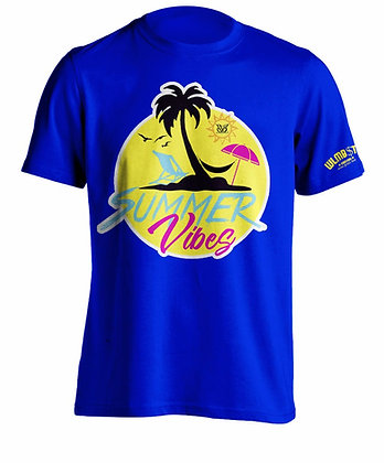 Summer Vibes Tee (Blue)