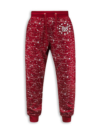 Fresh Year Round Joggers (Red)