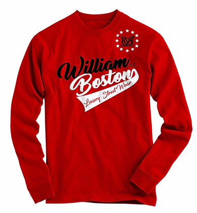 WB Signature LST Long Sleeve (RED)