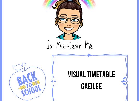 Visual Timetable (Gaeilge)