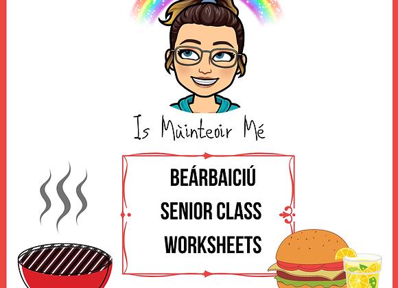 Beárbaiciú - Senior Worksheets