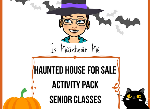 Halloween - Haunted House For Sale Activites
