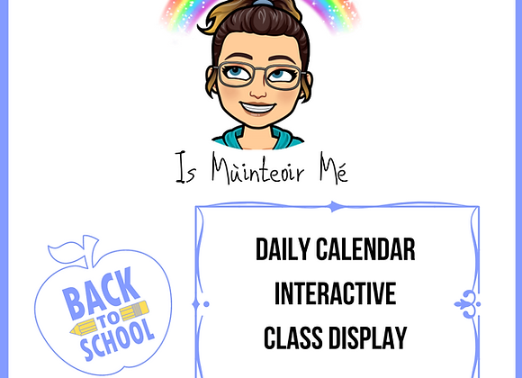 Calendar Interactive Display