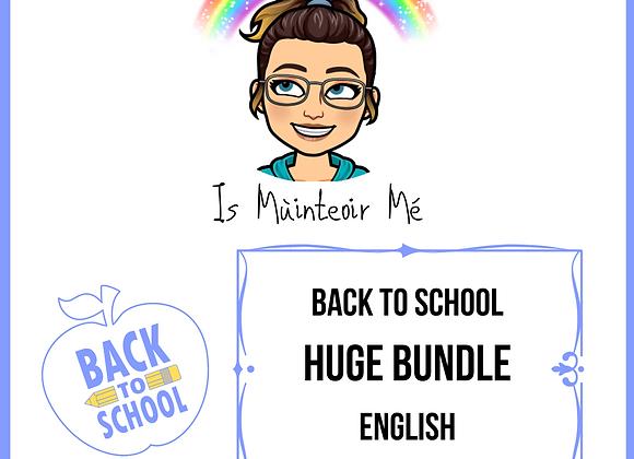 Back to School HUGE English Bundle