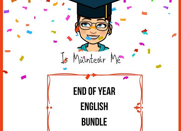 End of Year BUNDLE English