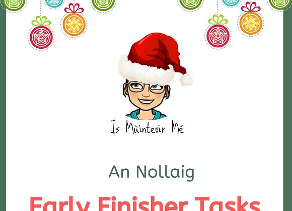 An Nollaig - Early Finisher Tasks