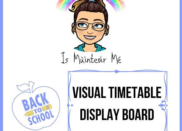 VisualTimetable Display