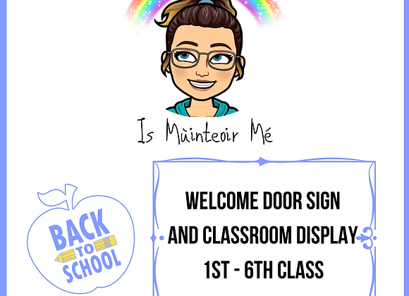 Welcome to 1st-6th Class Display