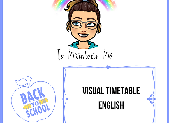 Visual Timetable (English)