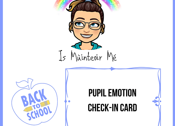 Pupil Emotion Check-In