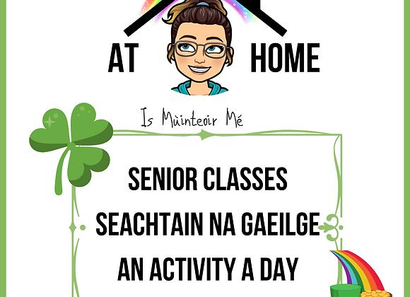 Remote Seachtain na Gaeilge for Senior Classes