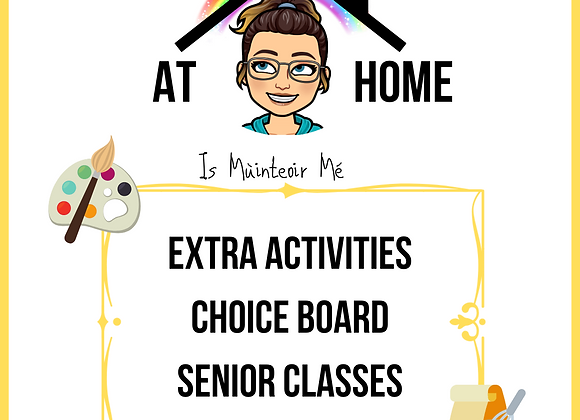 Choice Board - Seniors