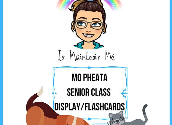 Mo Pheata - Senior Display/Flashcards