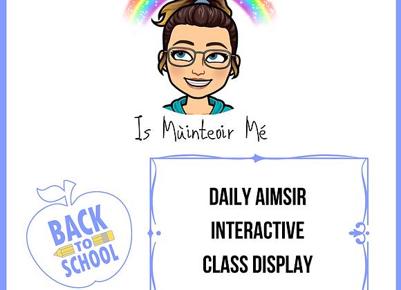 An Aimsir Inniu Interactive Display