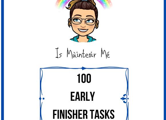 100 Early Finsher Tasks
