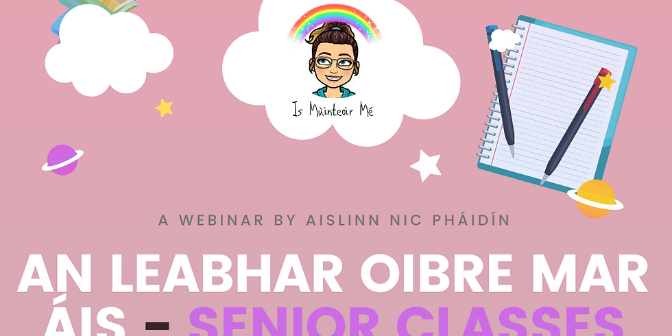 An Leabhar Oibre Mar Áis - Senior