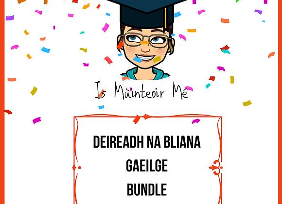 End of Year BUNDLE Gaeilge
