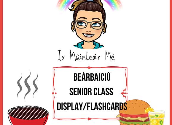 Beárbaiciú - Senior Display / Flashcards