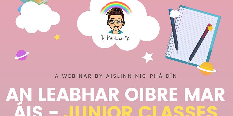 An Leabhar Oibre Mar Áis - Junior