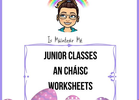 An Cháisc - Worksheets