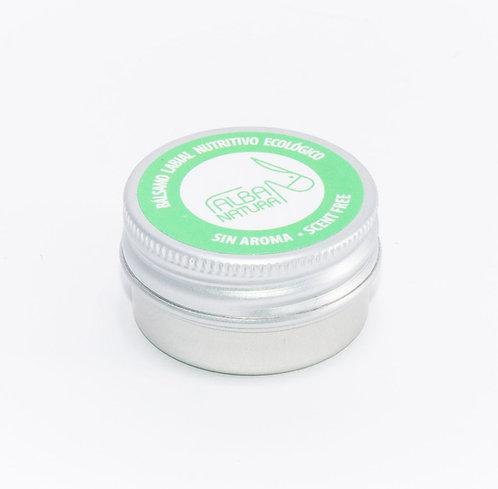 Alba Natura bálsamo labial reparador sin aroma