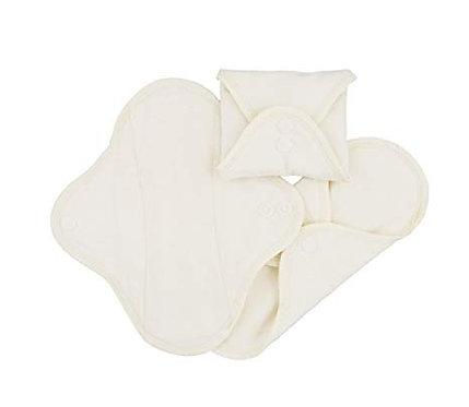 Imse Vimse pack de 3 salvaslip de algodón orgánico naturales