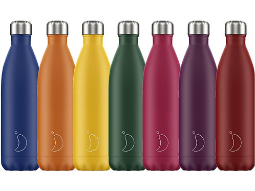 Chilly's 750 ml. colores mate