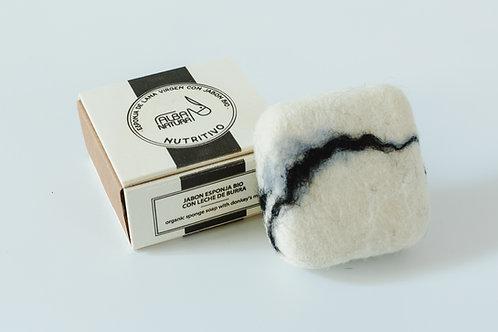 Alba Natura jabón esponja bio nutritivo