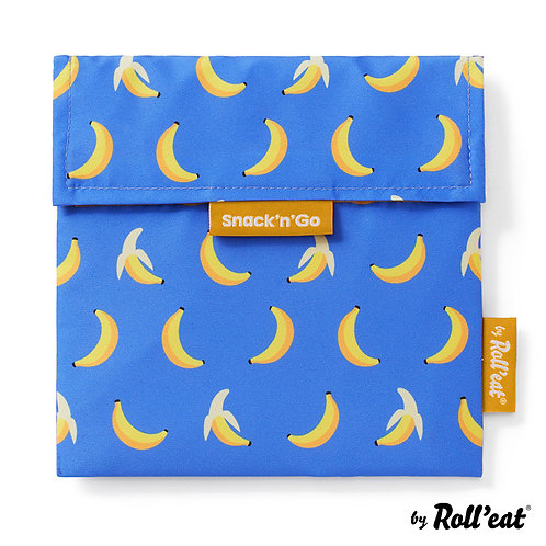 Rolleat bolsa porta snack Snack n'Go Fruits Plátano