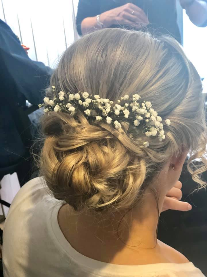 Beautiful Bridal Textured Updo