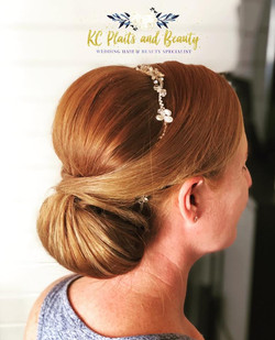 Classic and Timeless wedding hair