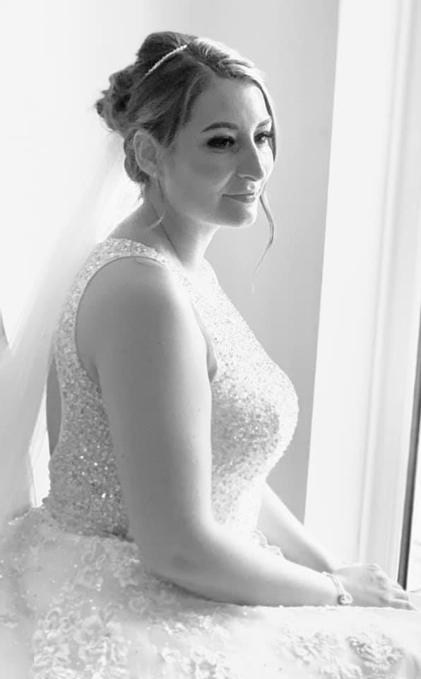 Beautiful Classic Bridal Updo