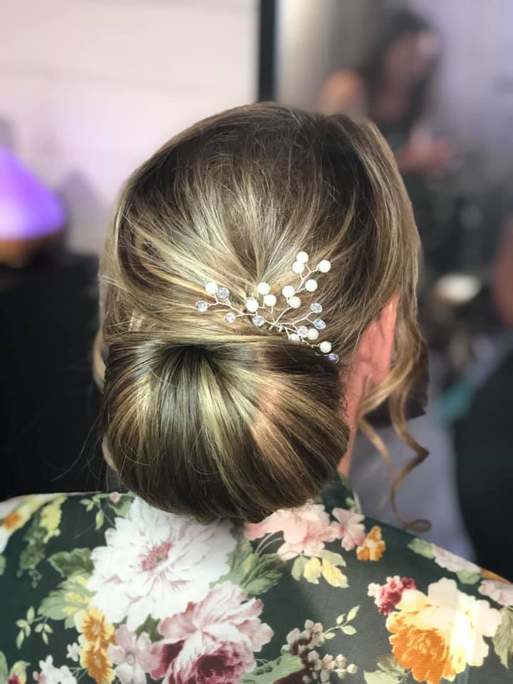 Classic Bridal Hair Chignon